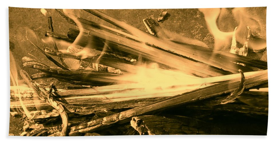 Orphelia Aristal Bath Sheet featuring the photograph Harmony I by Orphelia Aristal