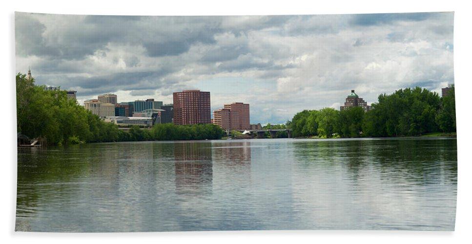 Hartford Hand Towel featuring the photograph Hartford 2015 by Jasmin Hrnjic
