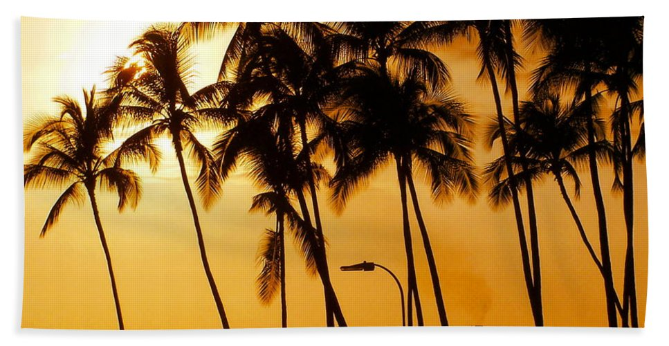Landscape Bath Sheet featuring the photograph Hawaiian Cruise by Athala Carole Bruckner
