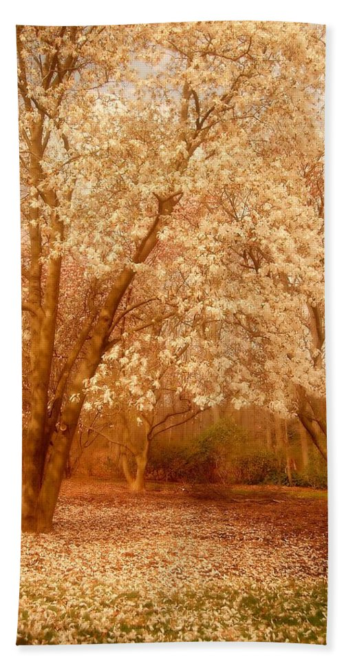 New Jersey Hand Towel featuring the photograph Hear The Silence - Holmdel Park by Angie Tirado