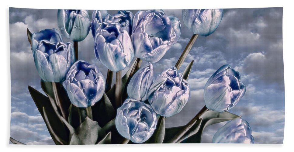 Blue Bath Sheet featuring the photograph Heavenly Blue by Joachim G Pinkawa