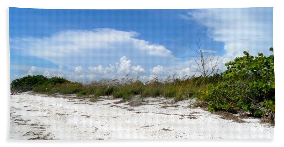 Sanibel Island Bath Sheet featuring the photograph Heavenly Day by Lib Sargent