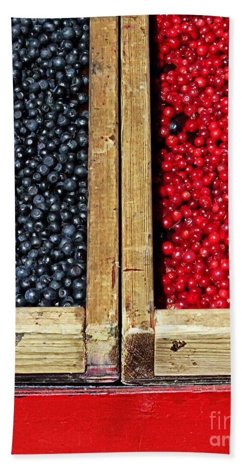 Helsinki Bath Sheet featuring the photograph Helsinkian Berries by Stefan H Unger
