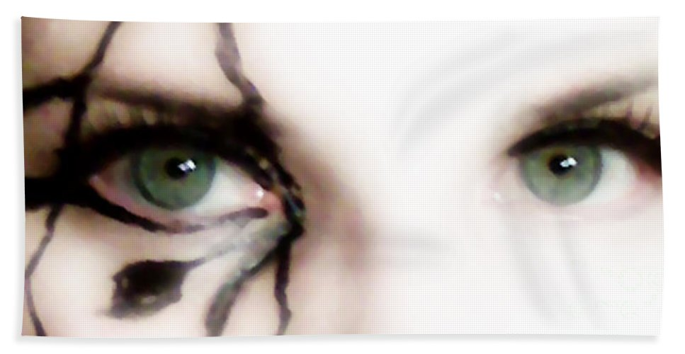 Eyes Hand Towel featuring the photograph Hidden Revelation by Amanda Barcon