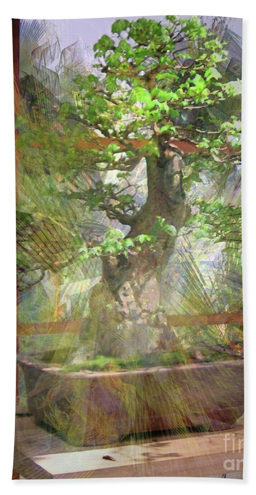 Hidden Treasures Bath Towel featuring the digital art Hidden Treasures by John Beck