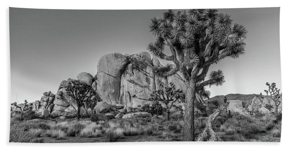 California Bath Sheet featuring the photograph Hidden Valley Rock by Peter Tellone