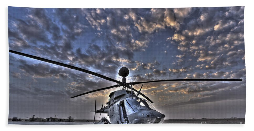 Aviation Bath Sheet featuring the photograph High Dynamic Range Image by Terry Moore