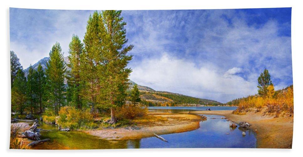 Rock Creek Bath Sheet featuring the photograph High Sierra Heaven by Lynn Bauer