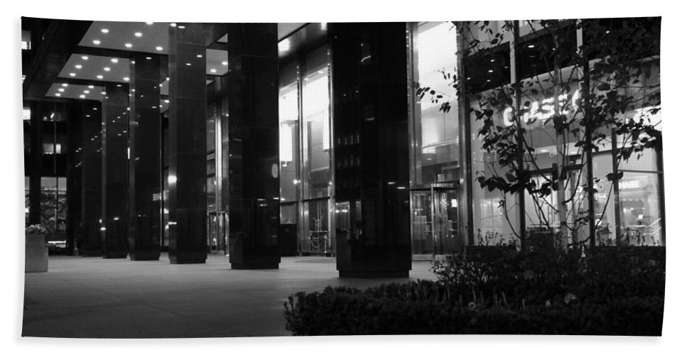 Architecture Bath Sheet featuring the photograph Historic Seagram Building - New York City by Miriam Danar