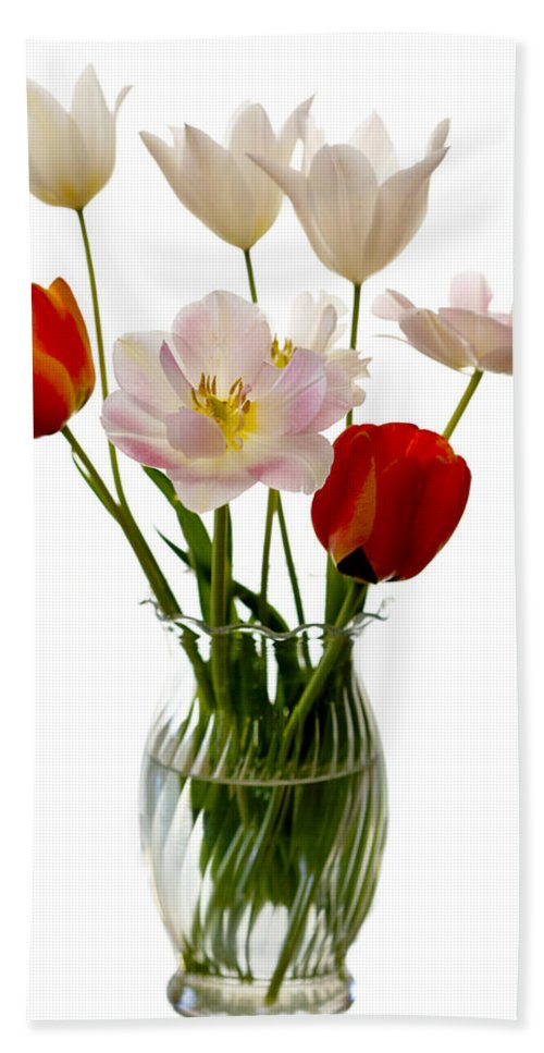 Flower Hand Towel featuring the photograph Home Grown by Marilyn Hunt