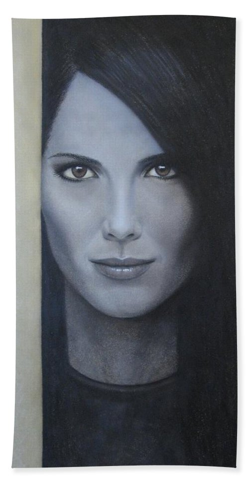 Hope Hand Towel featuring the painting Hope by Lynet McDonald