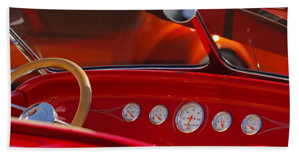 Transportation Hand Towel featuring the photograph Hot Rods by Jill Reger