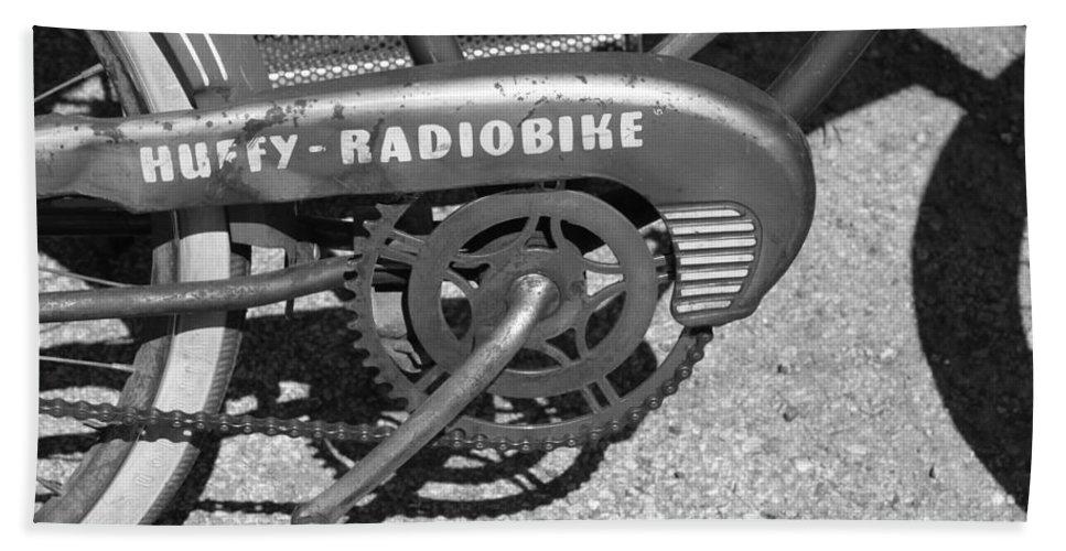 Huffy Bath Sheet featuring the photograph Huffy Radio Bike by Lauri Novak