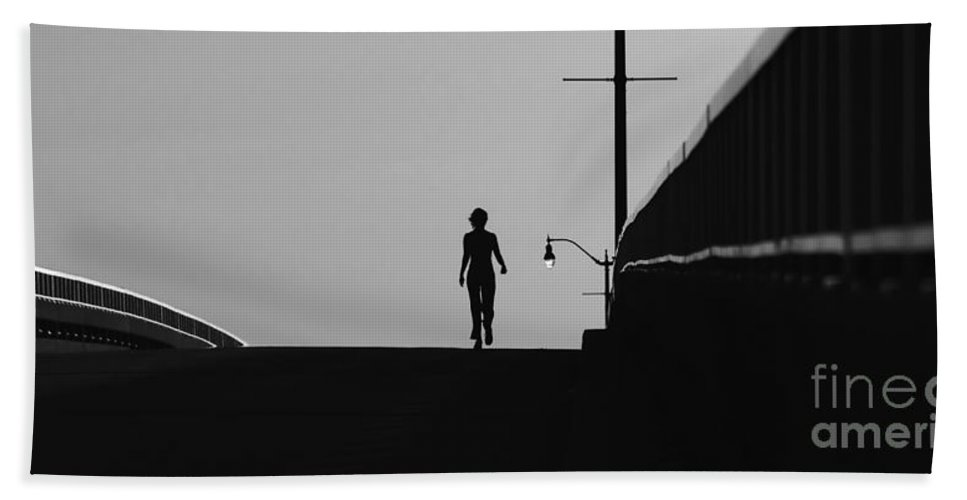 Female Bath Towel featuring the photograph I Am Woman by David Lee Thompson