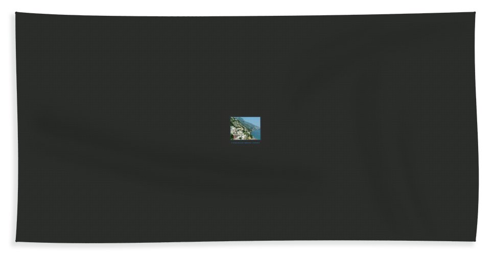 Motivational Hand Towel featuring the photograph I Visualize What I Want by Donna Corless