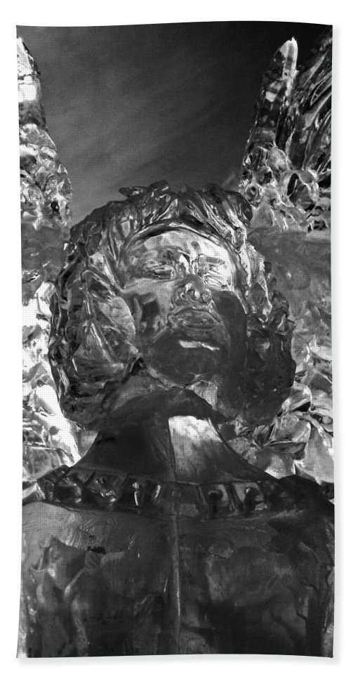 North Amrica Hand Towel featuring the photograph Ice Angel by Juergen Weiss