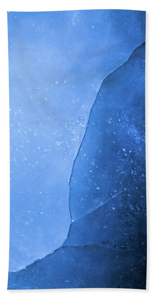 Ice Bath Sheet featuring the photograph Ice Art #226 by Sebastian Worm