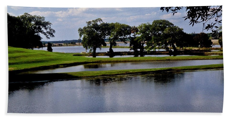 Lake Hand Towel featuring the photograph Charleston South Carolina by Gary Wonning