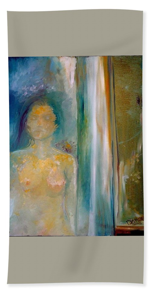 Dream Hand Towel featuring the painting In A Dream by Jack Diamond