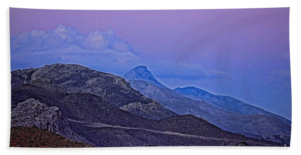 Crete Hand Towel featuring the photograph In Search Of Atlantis-2 by Casper Cammeraat