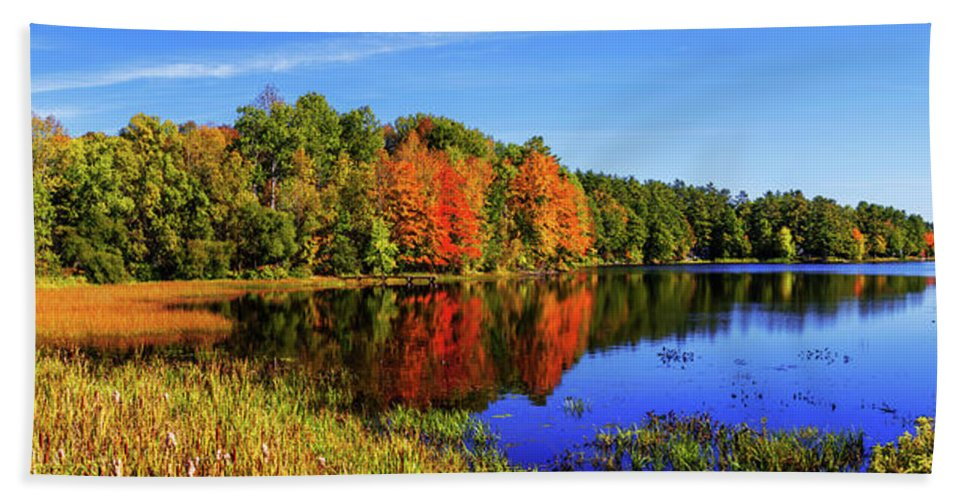 New England Hand Towel featuring the photograph Incredible Pano by Chad Dutson