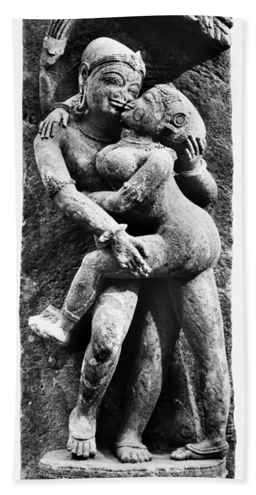 12th Century Hand Towel featuring the photograph India: Sculpture by Granger