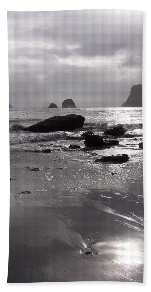 Beach Bath Sheet featuring the photograph Indian Beach by Gale Cochran-Smith