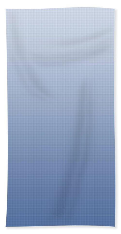 Indigo - Abstract Bath Sheet featuring the digital art Indigo - R Blended by Custom Home Fashions