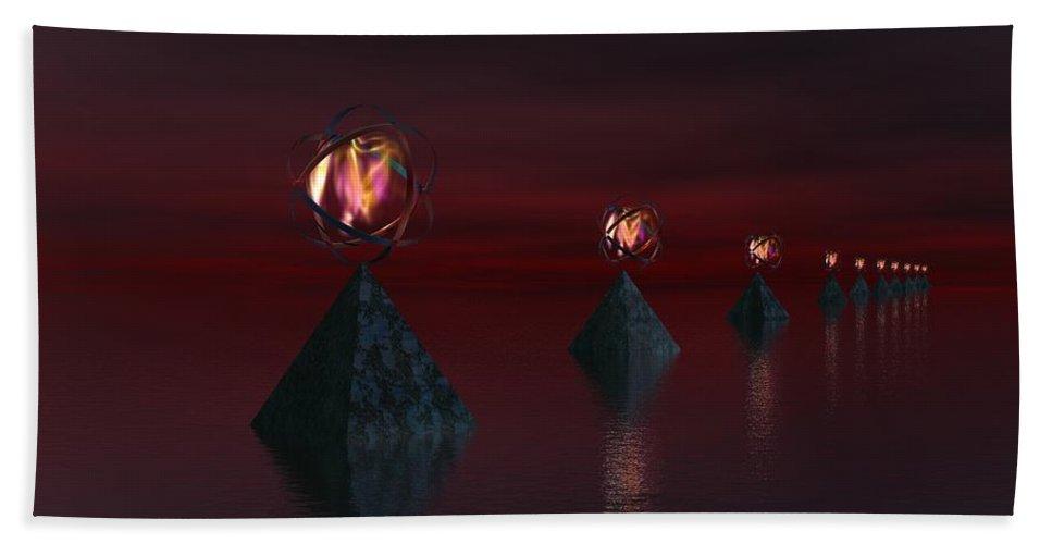 Fine Art Hand Towel featuring the digital art Infinate Hope by David Lane