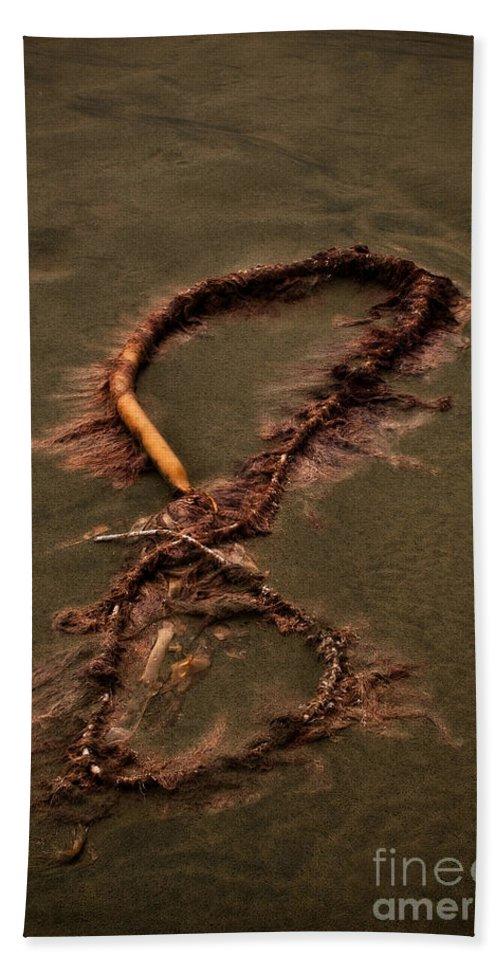 Algae Bath Sheet featuring the photograph Infinity by Venetta Archer