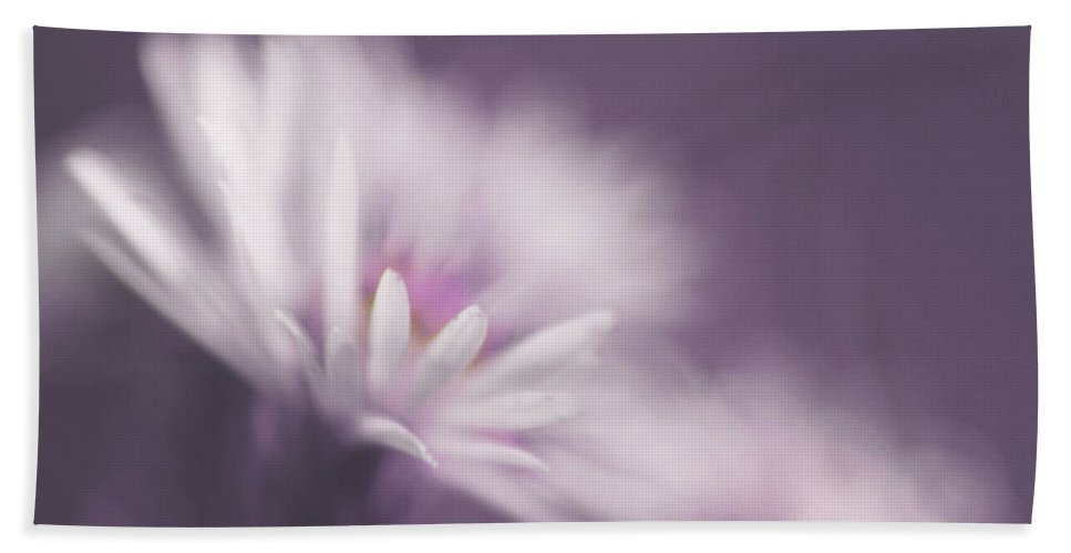 Flower Hand Towel featuring the photograph Innocence - Pp by Aimelle