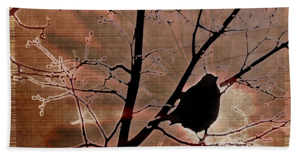 Tree Hand Towel featuring the photograph Interconnection by Lauren Radke