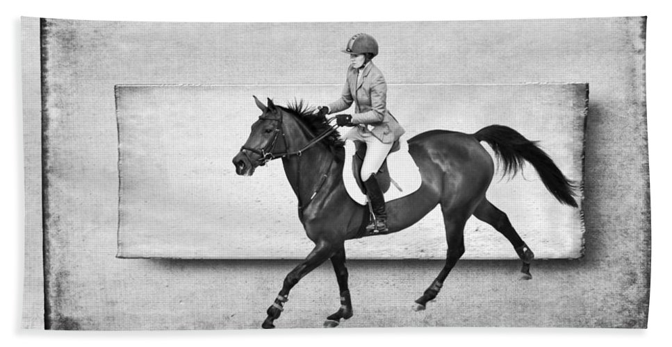 Alicegipsonphotographs Bath Sheet featuring the photograph Into The Jump by Alice Gipson