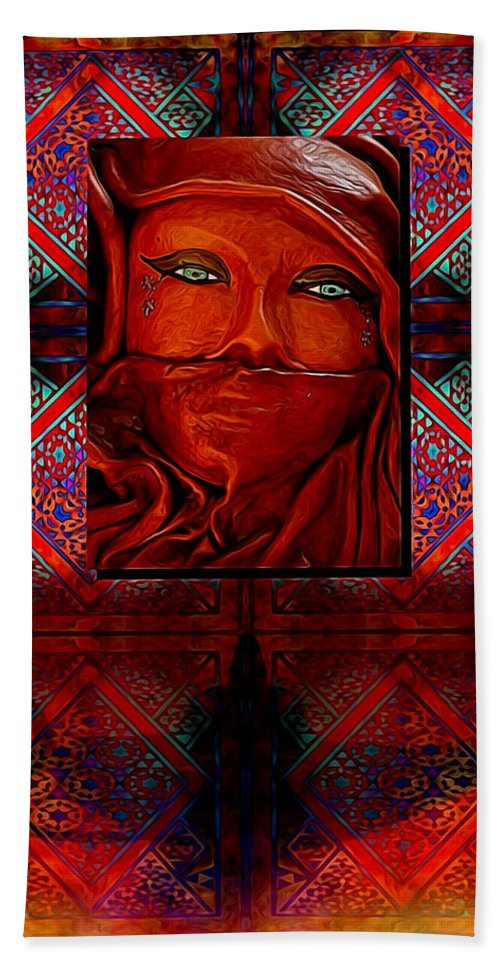 Arab Hand Towel featuring the photograph Iran Daze by Shannon Story