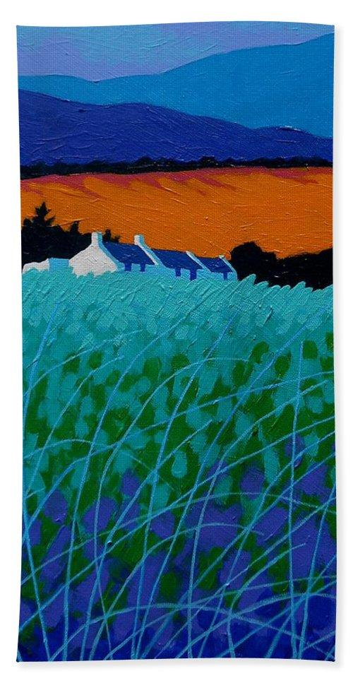 Ireland Hand Towel featuring the painting Ireland - West Cork by John Nolan