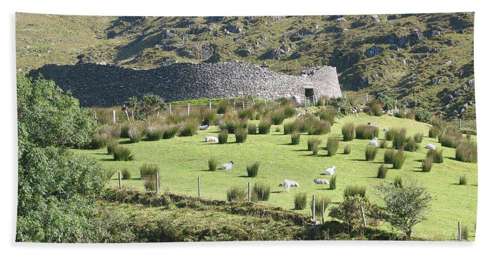 Ireland Bath Sheet featuring the photograph Ireland by Kelly Mezzapelle