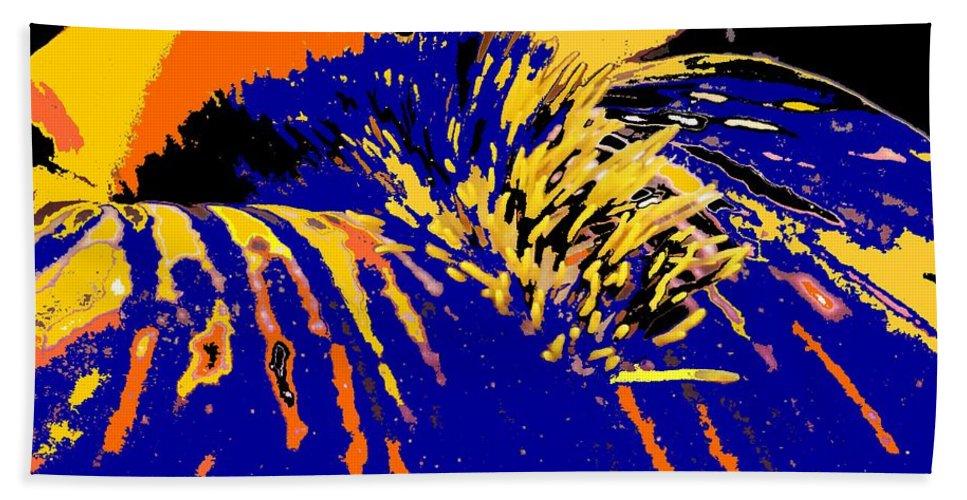 Flower Hand Towel featuring the photograph Iris by Ian MacDonald