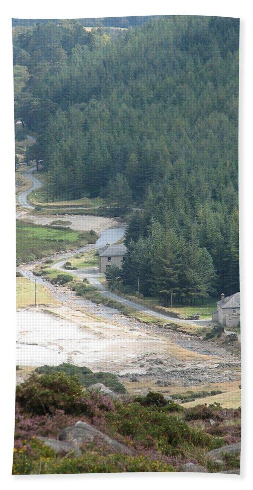 Ireland Bath Sheet featuring the photograph Irish Valley by Kelly Mezzapelle