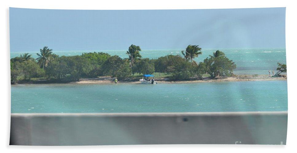 Key West Florida Bath Sheet featuring the photograph Islands Islands Islands by Davids Digits