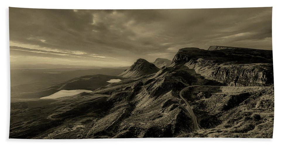 Isle Of Skye Hand Towel featuring the photograph Isle Of Skye Vista by Unsplash