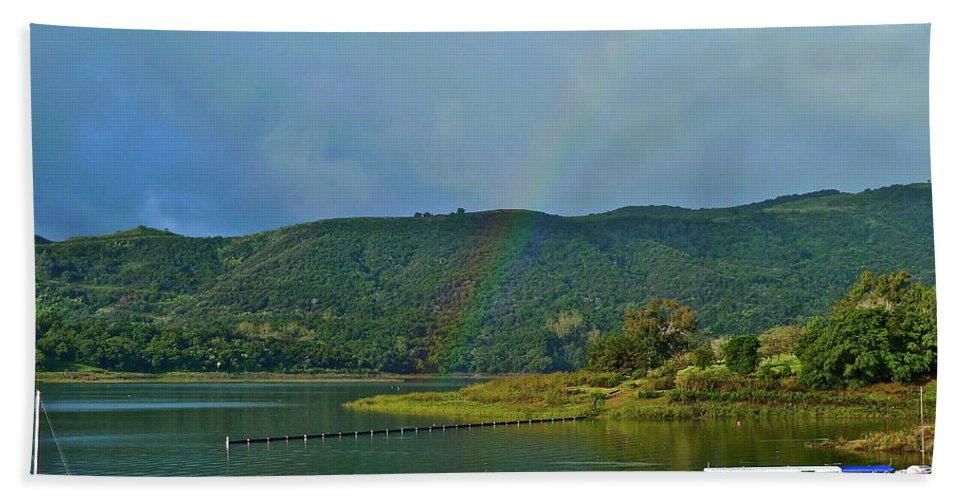 Lake Bath Sheet featuring the photograph It Does Not Get Any Better by Diana Hatcher
