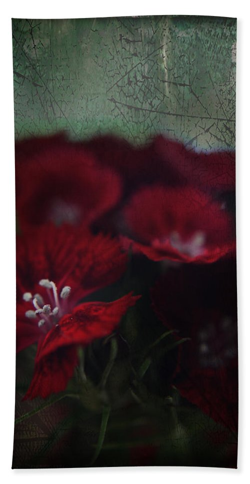 Flowers Hand Towel featuring the photograph It's A Heartache by Laurie Search