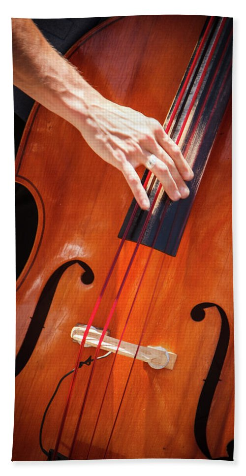 Bass Hand Towel featuring the photograph It's All About The Bass by Steve Skinner