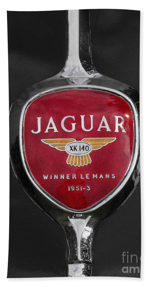 Jaguar Bath Sheet featuring the photograph Jaguar Medallion by Neil Zimmerman