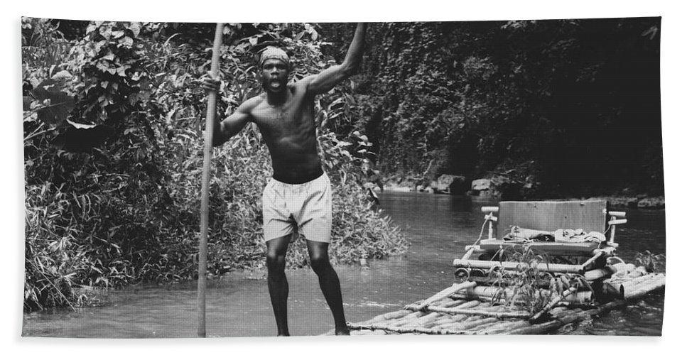 Water Hand Towel featuring the photograph Jamaican Life by Michelle Powell
