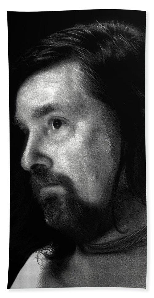 Man Bath Sheet featuring the photograph Janus by RC DeWinter