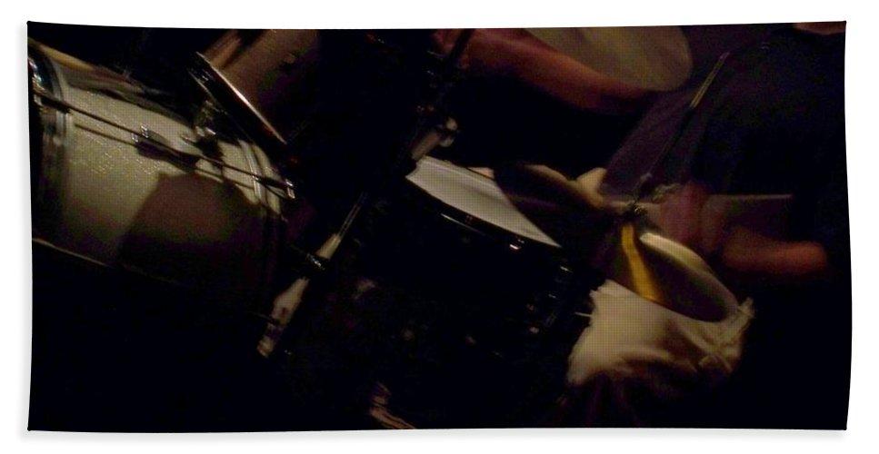 Jazz Hand Towel featuring the photograph Jazz Estate 13 by Anita Burgermeister