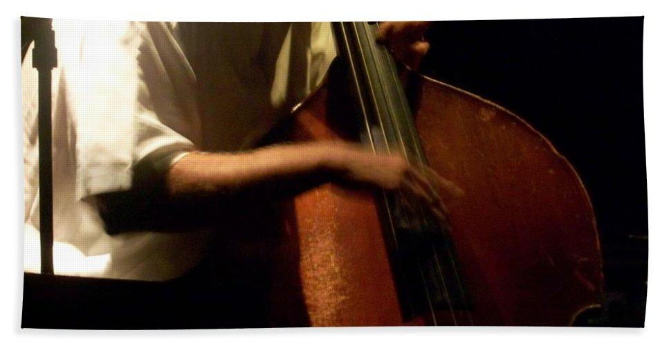 Jazz Bath Towel featuring the photograph Jazz Estate 5 by Anita Burgermeister