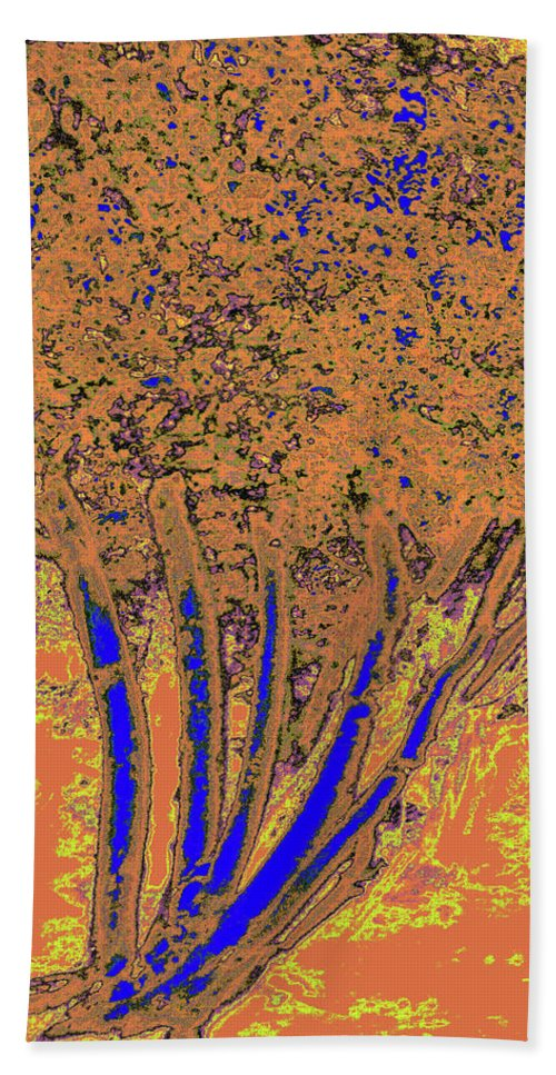 Trees Hand Towel featuring the photograph Jelks Fingerling 14 by Gary Bartoloni