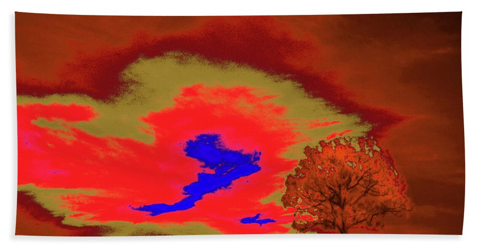 Trees Hand Towel featuring the photograph Jelks Pine 5 by Gary Bartoloni